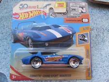 "Hot Wheels 2018 #259/365 CORVETTE GRAND SPORT ROADSTER ""1"" HW 50th Race team"