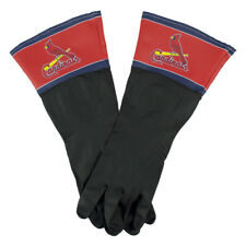 St Louis Cardinals MLB Latex Dish Garage Shop Gloves - One Size