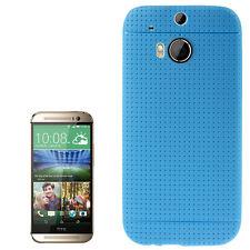 Smart Protectors! Softcase Cover Case Schutzhülle Hülle HTC One M8 Royal Blau
