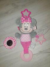 Minnie Mouse Baby Greifling Rassel Spielzeug Top Zustand