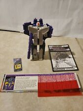 Vintage Transformers G1 Astrotrain 100% Complete With Manual/tech specs
