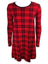 Women's Viscose Size Regular Knee-Length Dresses
