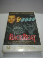 BACKBEAT THE STORY OF THE BEATLES VHS VIDEO TAPE PAL FREE POSTAGE