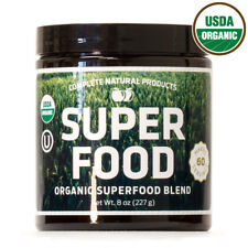 Organic & Kosher Greens Superfood Powder Blend Supplement 60 Servings