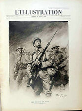 "* L' ILLUSTRATION N°3918 del 6 AVRIL 1918 * ""  LES SOLDATS DE FOCH """