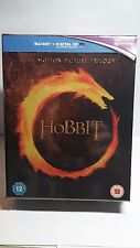 The Hobbit:The Motion Picture Trilogy (Blu-ray Boxset,Region Free)NEW-Free S&H