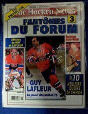 "NHL THE HOCKEY NEWS MONTREAL CANADIENS GUY LAFLEUR ""Les Fantomes du Forum"" no.3"