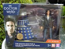 """DOCTOR WHO """" THE 8 TH DOCTOR AND DALEK INTERROGATOR PRIME """" NEW UNOPENED PACK"""