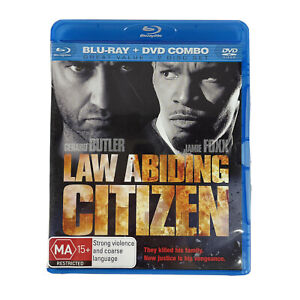 Law Abiding Citizen Gerard Butler Jamie Foxx Blu Ray + DVD 2-Disc Combo Region B