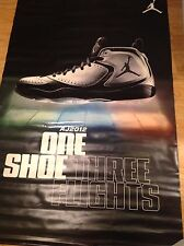 Rare NIKE AIR JORDAN AJ2012 Shoe Display Banner 64x40 Double Advertising Sign