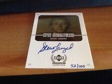1999 Upper Deck Century Legends Epic Signatures Steve Largent Gold Autograph