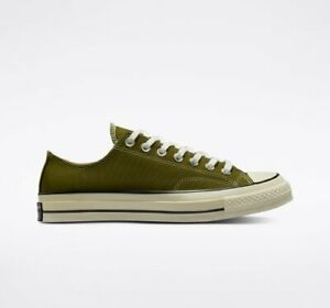New Converse Chuck 70 Low Vintage Shoes Sneakers (171568C) - Dark Moss