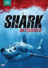 Shark Battlefield (Dvd, 2014, Ws, Bbc Earth) Slip Cover Included New