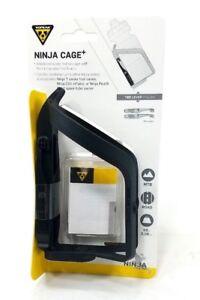 Topeak TNJ-CGP Ninja Cage Plus with Integrated Tire Levers Water Bottle Bike