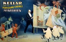 Historical Wall Art Kellar the Magician The Perplexing Cabinet 1894 11x17