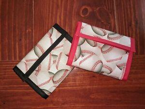 Boys Tri-Fold Wallets- Baseball