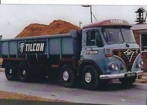 COL PHOTO: TILCON FODEN 8 WHEEL TIPPER - FWB 696K