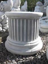 Sockel Säule Podest 23 cm hoch massiv für Steinfigur frostbeständig Garten Neu