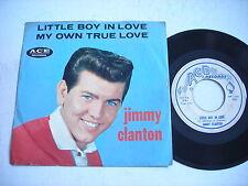 PICTURE SLEEVE Jimmy Clanton Little Boy in Love / My True Love 1959 45rpm VG+