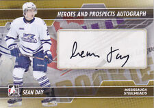 13-14 ITG Sean Day Auto Heroes & Prospects Mississauga Steelheads