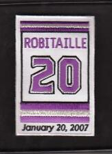 LA KINGS LUC ROBITAILLE RETIREMENT JERSEY PATCH NHL LOS ANGELES KINGS PATCH