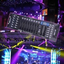 LIXADA 192CH DMX512 Controller Stage Light KTV DJ Lighting Console US Stock M5M3