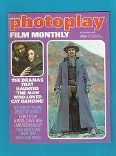 #T42.  PHOTOPLAY  MONTHLY MOVIE  MAGAZINE, OCTOBER 1973,  BURT REYNOLDS  COVER