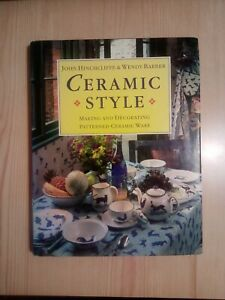 POTTERY MAKING BOOK - CERAMICS - MAKING & DECORATING PATTERNED CERAMIC WARE