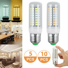 10 Pack LED E27 Warm/Daylight White LED Corn Bulb Lamp Light 110V AC US Shipping