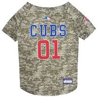Chicago Cubs MLB Officially Licensed Dog Pet Camo Jersey Sizes XS-XL
