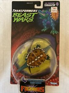 1997 Kenner Transformers Beast Wars BW Fuzors TERRAGATOR Evil Predacon NMOC