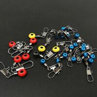 Fishing Tackle Running ledger zip slider beads snap links swivels 3 size New fgh