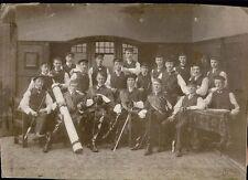Studentenverbindung Osnabrück 1908 Originale Photographie!