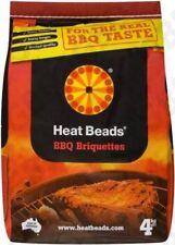 4x HEAT BEADS BBQ FUEL 4KG
