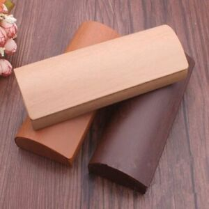 Hard Wood Glasses Protector Wooden Storage Box Sunglasses Case Lightweight