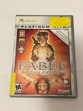 Fable The Lost Chapters Xbox Platinum Hits