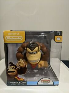 """World of Nintendo Donkey Kong 6"""" Deluxe Action Figure Tropical Freeze Jakks"""