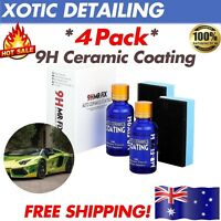 4-PACK 30ML Super hydrophobic Glass Coating Car Liquid ceramic Coat Auto Paint