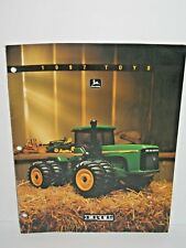 1997 John Deere Ertl Toy Catalog Tractor Crawler Machinery Manual Brochure