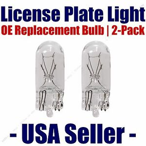 License Plate Bulb 2pk OE Replacement Fits - Listed Saturn Vehicles - 192