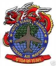 TSA FEDERAL AIR MARSHAL DRAGON TEAM AIR MARSHAL PATCH