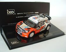 IXO 1/43 Citroen DS3 WRC #11 Rally Sweden 2011 Solberg Patterson RAM479