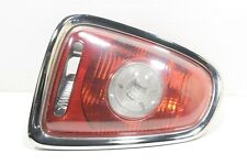 Mini Cooper R56 R57 Rear Left Tail light Lamp Clear indicator Cluster Chrome