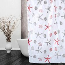 59''x59'' Print Portable Pattern Waterproof Bathroom Shower Curtain +10 Hooks N