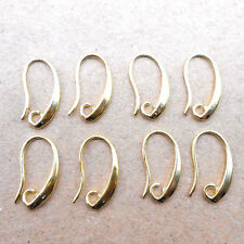 10pcs Lot Making DIY Gold Jewelry Findings Gold Earring Pinch Hooks Earwire