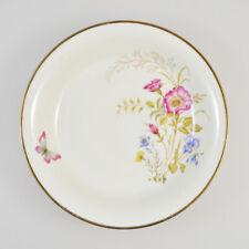 Bavaria Elfenbein Porzellan 47 - Tiefer Teller - Blumen Goldrand Schmetterling