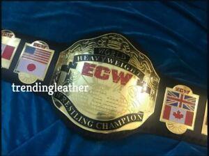 ECW World Heavyweight Wrestling Championship BELT Adult Size