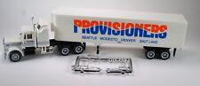 HO 1/87 Promotex # 6111 Peterbilt - Aero w/40' Reefer Van - Provisioners Express