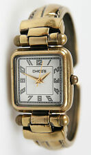 Chico's Women's Antique Gold-Tone Bangle Watch CH-203. New and unworn.
