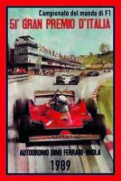 Formel 1 in Imola 1989 Blechschild Schild gewölbt Metal Tin Sign 20 x 30 cm
